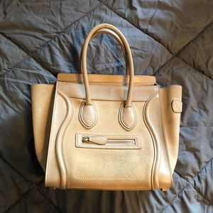 Céline Luggage purse